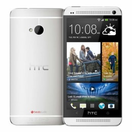 HTC One M7 GSM Mobile Phone (Silver)_1