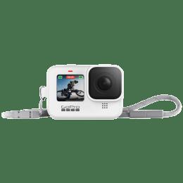 GoPro Sleeve Plus Lanyard For Hero 9 (Adjustable Lanyard, ADSST-002, White)_1