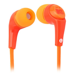 MTV Fashiontronix Wave In-Ear Wired Earphones with Mic (MTVEA001-OR, Orange)_1