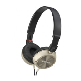 Sony Headphone MDR-ZX300 Gold_1