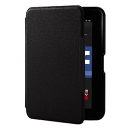 """Amazon 7"""" Kindle Fire HD Standing Leather Flip Cover (Black)_1"""