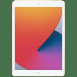 Apple iPad 10.2 8th Gen WiFi iOS Tablet (iPadOS 14, Apple A12 Bionic chip, 25.90 cm (10.2 Inches), 4GB RAM, 128GB ROM, MYLF2HN/A, Gold)_1