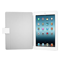 Capdase Karapace Jacket Sider Flip Cover for Apple iPad 2/3 (KPAPIPAD3-SE22, White)_1