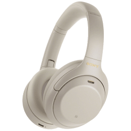 Sony Over-Ear Wireless Headphone with Mic (Bluetooth 5.0, Touch Sensor, WH-1000XM4, Silver)_1