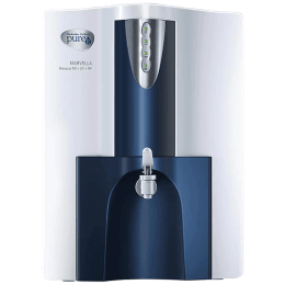 Pureit Marvella Eco RO+UV Electrical Water Purifier (7 Stage Purification, WPNT500, White and Blue)_1