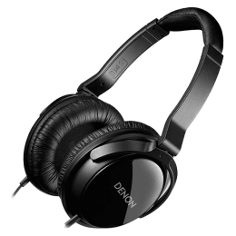 Denon Over-Ear Headphones (AH-D310EM, Black)_1