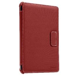 Targus Vuscape Plush Flip Case For iPad Mini (Topstitch Design, THZ18201AP-50, Red)_1