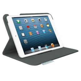 Logitech Folio Flip Case for Apple iPad Mini (939-000652, Carbon Black)_1
