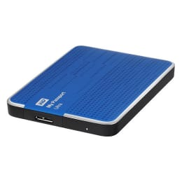 Western Digital My Passport Ultra 1TB USB 3.0 External Hard Disk Drive (WDBZFP0010BBL-B, Blue)_1