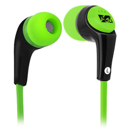 MTV Fashiontronix Wave In-Ear Wired Earphones with Mic (MTVEA001-GR, Green)_1