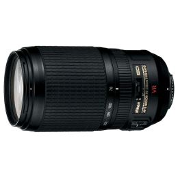 Nikon AF-S VR 70-300 mm F4.5-F5.6 Lens (JAA795DA, Black)_1