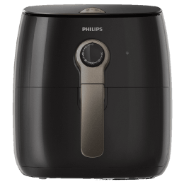 Philips Viva Collection Air Fryer (Fat Removal Technology, HD9721/13, Black)_1
