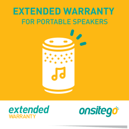 Onsitego 1 Year Extended Warranty for Portable Speaker (Rs.100,000 - Rs.150,000)_1