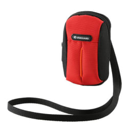 Vanguard Polyester Digital Camera Pouch (Mustang 6A, Red)_1