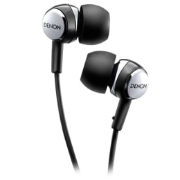Denon In-Ear Wired Earphones with Mic (AH-C260, Black)_1