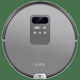 Ilife V80 26 Watts Robotic Vacuum Cleaner (0.75 Litres Tank, Silver Grey)_1