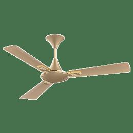 Crompton Aura 120cm 3 Blade Ceiling Fan (Anti-Dust Technology,  Designer 2D, Golden)_1