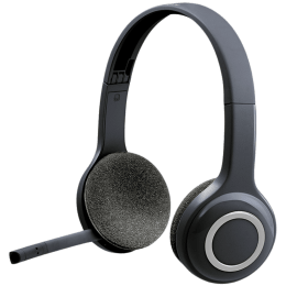 Logitech H600 On-Ear Wireless Headset with Mic (Bluetooth 2.1, Rich Stereo Sound, 981-000504, Black)_1