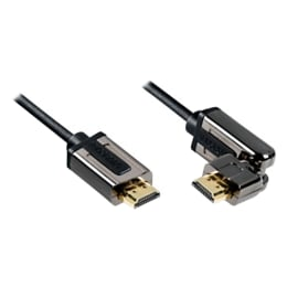 Profigold 200 cm HDMI (Type-A) Cable with Ethernet (PROL1802, Black)_1