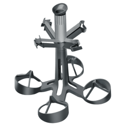 Bosch Glass Holder for Dishwasher (Secure Holder, 791040, Dark Grey)_1