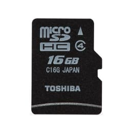 Toshiba 16GB Class 4 Memory Card (C16G, Black)_1