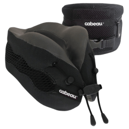 Cabeau Evolution Cool Travel Neck Pillow (TPEC2801, Black)_1