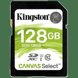 Kingston Canvas Select 128GB Class 10 Memory Card (SDS/128GBIN | Black)_1