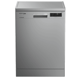 Voltas Beko 14 Place Setting Full Size Dishwasher (AquaIntense, DF14S2, Silver)_1