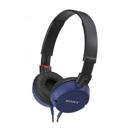 Sony Headphone MDR-ZX100 Blue_1