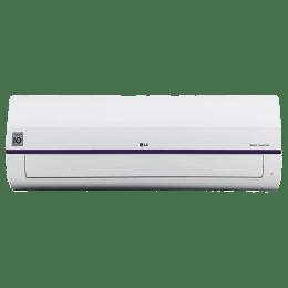 LG 1 Ton 3 Star Inverter Split AC (KS-Q12BNXD, Copper Condenser, White)_1