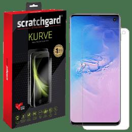 Scratchgard Kurve Primo 3D Screen Protector for Samsung Galaxy S10 (Transparent)_1