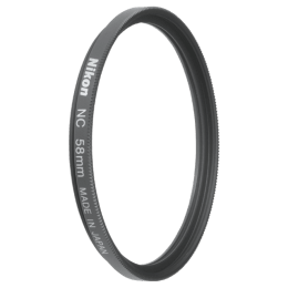 Nikon 58 mm NC Camera Lens Filter (FTA70101, Black)_1