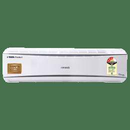 Croma 1 Ton 3 Star Inverter Split AC (White, CRAC7701, Copper Condenser)_1