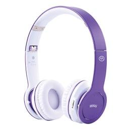 MiiKey Rhythm Bluetooth Headphone (Purple)_1
