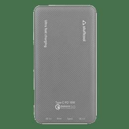Stuffcool 10000 mAh 18 W Type-C QC 3 Power Bank (PB1080PD, Grey)_1