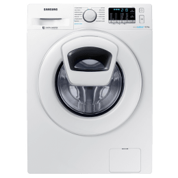Samsung 8 kg Fully Automatic Front Loading Washing Machine (WW80K54E0WW/TL, White)_1