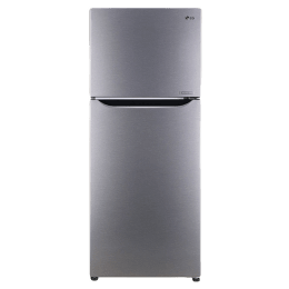 LG 260 Litres 2 Star Frost Free Inverter Double Door Refrigerator (Humidity Controller, GL-N292DDSY, Dazzle Steel)_1
