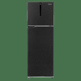 Panasonic 336 L 3 Star Surround Cool Double Door Inverter Refrigerator (NR-BG341PBK3, Black)_1