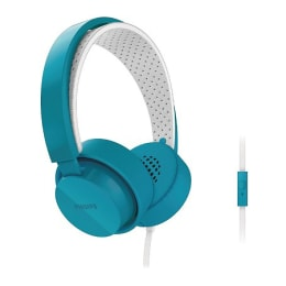 Philips Citispace On-Ear Headphones (SHL5205BL, Blue)_1