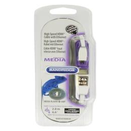 Bandridge 200 cm HDMI (Type-A) to Micro HDMI Cable (BBM34700W20, White)_1