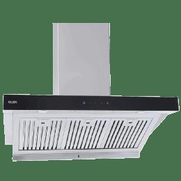 Glen 1250 m³/hr 60cm Downdraft Hood Chimney (Touch Sensor Control, GL 6078 OC, Silver)._1