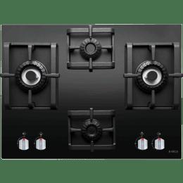 Elica Swirl Pro MFC 4B 91 DX 4 Burners Built In Cooktop (Black)_1