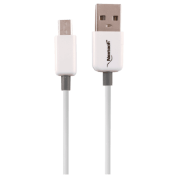 Nextech 150 cm Fast Braided and Shielded Micro USB Sync and Charge Cable (NC59, White)_1