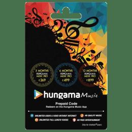 Hungama Music Prepaid Code - INR 499_1