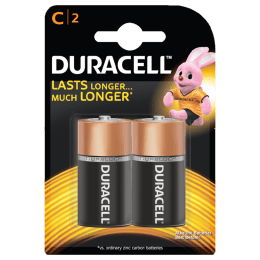 Duracell Basic C Battery (C 2, Copper Black)_1