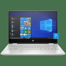 HP Pavilion x360 14-dh0047tu 6XU80PA#ACJ Core i3 8th Gen Windows 10 Home Laptop (4 GB RAM, 1 TB HDD + 256 GB SSD, Intel UHD 620 Graphics, MS Office, 35.56cm, Silver)_1
