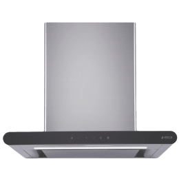 Elica Galaxy 1220 m³/hr 60cm DownDraft Hood Chimney (EDS3 Technology, EDS LTW 90 Touch LED S, Silver)_1