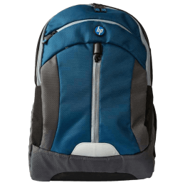 HP Trendsetter 15.6 Inch Laptop Backpack (W2N96PA#ACJ, Blue and Black)_1