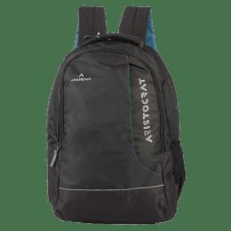 Aristocrat Z4 Laptop Backpack (LPBPZ4HBLK, Black)_1