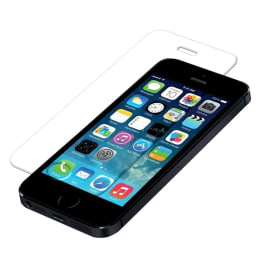 Catz Tempered Glass Screen Protector for Apple iPhone 5S/SE (CTZTG5S, Transparent)_1
